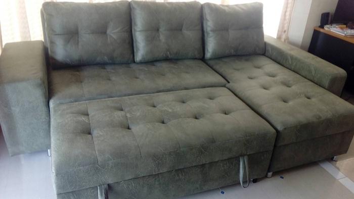 โซฟาเบด โซฟา โซฟาเบดขนาดใหญ่ โซฟาเบดหนัง โซฟาปรับนอน sofabed โซฟาเบดสีเขียว