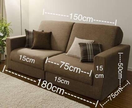 การวัดขนาดโซฟา