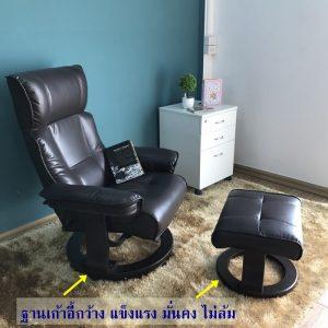 เก้าอี้พักผ่อนสำหรับผู้สูงอายุที่ดี จะต้องไม่มีล้อ