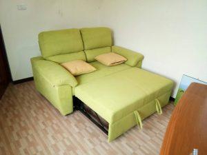 โซฟาเบดสีเขียว