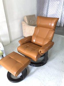 เก้าอี้พักผ่อนหนังเทียม